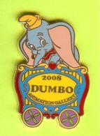 Pin's BD Disney Dumbo Éléphant Wagon De Cirque - 10T06 - Sonstige