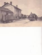 TOULON SUR ARROUX - La Gare - Autres Communes