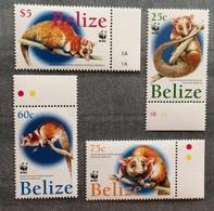 Belize British Honduras 2004 Fauna WWF Opossum MNH** Low Start! - Belize (1973-...)