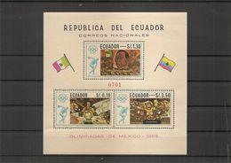 JO De Mexico -1968 ( BF 35 XXX -MNH- De L'Equateur) - Estate 1968: Messico