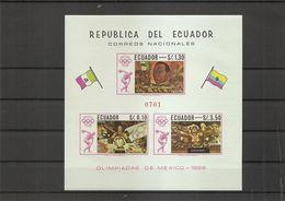 JO De Mexico -1968 ( BF 36 XXX -MNH- De L'Equateur) - Ete 1968: Mexico