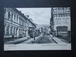 CP ALLEMAGNE DEUTSCHLAND (M1803) RÜDESHEIM (2 Vues) GrabenStrasse Mit Der Zahnradbahn Années 1900 - Ruedesheim A. Rh.