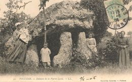 CPA-1910-86-POITIERS-Le DOLMEN De La PIERRE LEVEE-TBE - Poitiers