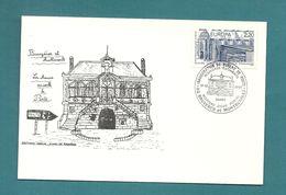 AISNE - Bruyeres. Inauguration Du Bureau De Poste. Nouveaux Batiments/ Nouveau Code Postal. 1988 - Marcofilie (Brieven)