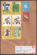 Argentina - Lettre - Coupe Du Monde 1994 - Football - Briefe U. Dokumente