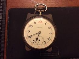 Montre Gousset DOXA Argent Médaille D Or Milan 1906 - Watches: Bracket