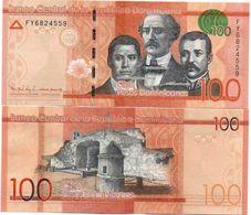 Dominican Rep - 100 Pesos Oro 2016 UNC Lemberg-Zp - Dominicana