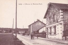 Carte Postale  : Lardy (91) L'Avenue Du Maréchal Foch      Cliché Venot   Ed Réault     Peinture Vitrerie - Lardy