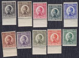 Kingdom Of Yugoslavia 1924 King Aleksandar Definitive Value Of 20p In 10 Colors, MNH (**) - Unused Stamps