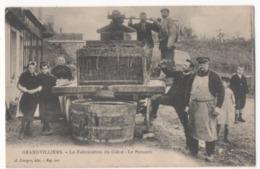 GRANDVILLIERS - Lafabrication Du Cidre - Le Pressoir - Grandvilliers