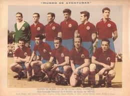 Torres Vedras - Poster - Equipa De Honra Do Sport Clube União Torreeense, 1952 - Futebol Football Estadio Stadium Stade - Afiches