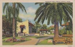 Texas Corpus Christi Artesian Park Curteich - Corpus Christi