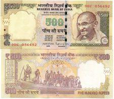 India - 500 Rupees 2014 UNC Lemberg-Zp - India