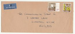 Air Mail ZAMBIA COVER Stamps TOBACCO PLANT , MUSEUM ,to GB Smoking Health - Zambie (1965-...)