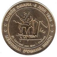 Monnaie De Paris 14.Saint Laurent - Musée Omaha Beach 2000 - Monnaie De Paris