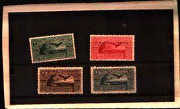 86532) TRIPOLITANIA-Bimillenario Della Nascita Di Virgilio - POSTA AEREA - 4 Dicembre 1930 -MNH**N.A4/A7.-SERIE COMPLETA - Tripolitania