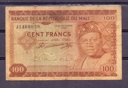 Mali  Ex AOF 100 Fr - Other - Africa