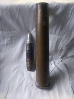 Cartouche 40 Bofors Gb - Militaria