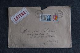 Lettre De POSTES AUX ARMEES  - N°1600 Et 1353 A ( Moyen Format) - France