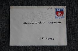 Lettre De POSTES AUX ARMEES  - N°1354 B - France