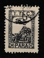 (T024) 1931 First Stamp In Aid Of The Turkish Aviation Society With Latin Characters Only Stamps Used - 1921-... République