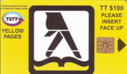 TRINIDAD : TRIC04 TT$100 Yellow Pages USED - Trinidad & Tobago