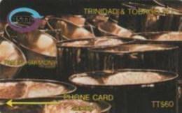 TRINIDAD : 002C TT$60 SER.1 Pan In Harmony USED - Trinidad & Tobago