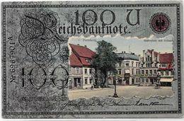 CPA Billet De Banque Banknote Circulé Germany Allemagne - Monnaies (représentations)