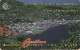 STVINCENT : 052B 10 View Of Kingstown USED - St. Vincent & The Grenadines