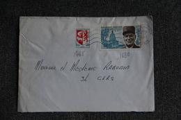 Lettre De PYLA SUR MER - N°1468 Et 1630 - France