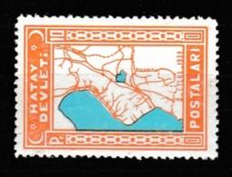 (H50) Postage Stamps Of The Hatay State Stamps MNH** - 1934-39 Sandjak Alexandrette & Hatay