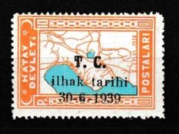 (H67) Postage Stamps Of The Hatay State Stamps MNH** - 1934-39 Sandjak Alexandrette & Hatay