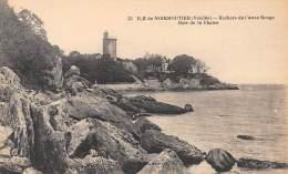 85 - ILE De NOIRMOUTIER - Rochers De L'Anse Rouge - Bois De La Chaise - Noirmoutier