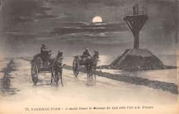85 - NOIRMOUTIER - A Marée Basse : Le Passage Du Goâ Relie L'Ile à La France - Noirmoutier