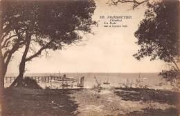 85 - NOIRMOUTIER - La Rade Vue à Travers Bois - Noirmoutier