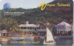 BVI : P7 No Value Traveller's Card 04/03/97 MINT - Virgin Islands