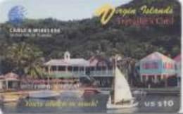 BVI : P5 US$ 10 Traveller's Card 07/30/1996 MINT - Virgin Islands