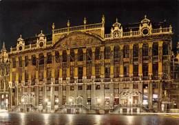 CPM - BRUXELLES - Maison Des Ducs De Brabant - Bruxelles La Nuit