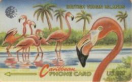 BVI : 019F EC$20 Flamingos Spanish USED - Virgin Islands