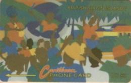 BVI : 017A EC$5  Carnival USED - Virgin Islands