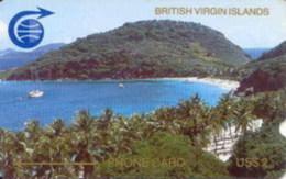 BVI : 001C US$10 (Large Notch) USED - Virgin Islands