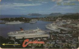STLUCIA : 007B EC$20 Harbour USED - Sainte Lucie