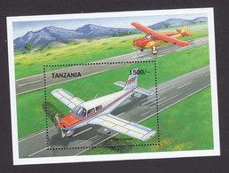 Tanzania, Scott #1866-1867, Mint Never Hinged, Planes, Issued 1999 - Tanzania (1964-...)