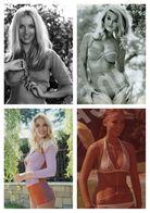 Photo Postcard Barbara Bouchet Pack 4 - Mujeres Famosas