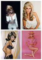 Photo Postcard Nancy Sinatra Pack 4 - Mujeres Famosas