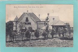Small Postcard Of Burg Sonnensturm,Isartal Bavaria,Germany,Q89. - Allemagne