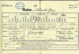 Noten Für Schuljahr 1924 / 1925  -  Simult. Schule München - Diplome Und Schulzeugnisse