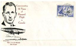 (77) Canada - FDC 1959 - Aviation - Aerei