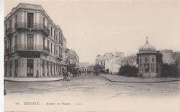 Cp , TUNISIE , BIZERTE , Avenue De France - Tunisie