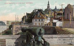 Cp , CANADA , QUEBEC , From Remparts Looking East - Québec - La Citadelle
